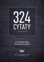 """Darmowy ebook """"324 cytaty o pieniądzach"""" / Marcin Iwuć"""