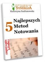 """Darmowy ebook """"5 najlepszych metod notowania"""" / Katarzyna Szafranowska"""