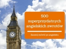 500 superprzydatnych angielskich zwrotów - kurs języka