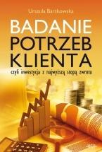 Ebook Badanie potrzeb klienta / Urszula Bartkowska
