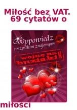 Darmowy ebook Miłość bez VAT. 69 cytatów o miłości / Daniel Janik