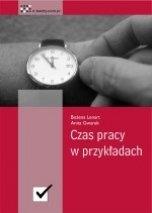 Ebook Czas pracy w przykładach / Bożena Lenart i Anita Gwarek