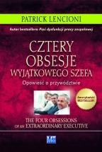 Ebook Cztery obsesje wyjątkowego szefa / Patrick Lencioni