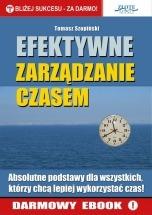 Darmowy ebook Efektywne zarządzanie czasem / Tomasz Szopiński