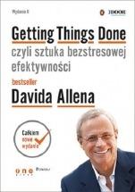 """Książka """"Getting Things Done, czyli sztuka bezstresowej efektywności"""". - David Allen"""