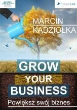 Audiobook Grow Your Business - Powiększ swój biznes - Marcin Kądziołka.