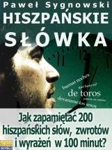 Ebook Hiszpańskie słówka / Paweł Sygnowski
