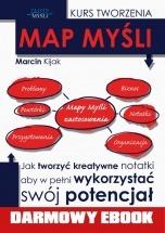 Darmowy ebook Kurs tworzenia map myśli / Marcin Kijak