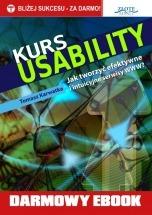 Darmowy Ebook Kurs usability / Tomasz Karwatka