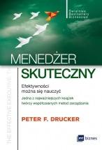 Książka Menedżer skuteczny / Peter F. Drucker