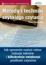 Ebook Metody i techniki szybkiego czytania / Paweł Sygnowski