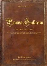 """Książka Prawa sukcesu: Tom I i Tom II (""""SuperUmysł"""" i """"Określony Cel główny"""")"""