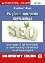 Darmowy ebook Przydatne narzędzia pozycjonera / Arkadiusz Podlaski