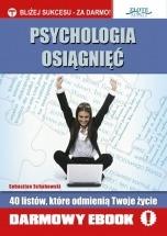 Darmowy ebook Psychologia osiągnięć / Sebastian Schabowski