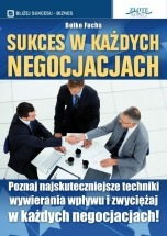 Książka Sukces w każdych negocjacjach / Bolko Fuchs