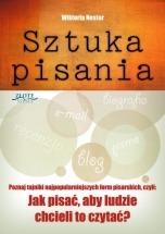Ebook Sztuka pisania / Wiktoria Nester