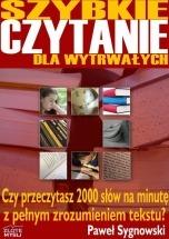 Ebook Szybkie czytanie dla wytrwałych / Paweł Sygnowski