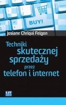 Ebook Techniki skutecznej sprzedaży przez telefon i Internet / Josiane Chriqui Feigon
