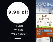 Promocje dnia - 02.06.2017: ebooki po 9,90 przez weekend!