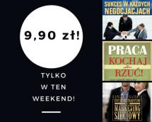 Promocje dnia - 09.06.2017: ebooki po 9,90 przez weekend!