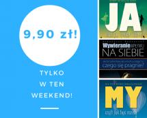 Promocje dnia - 12.05.2017: ebooki po 9,90 przez weekend!