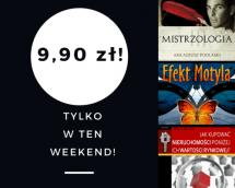 Promocje dnia - 14.07.2017: ebooki po 9,90 przez weekend!