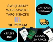 Promocje dnia - 19.05.2017: ebooki po 9,90 przez weekend!