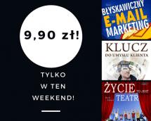 Promocje dnia - 21.07.2017: ebooki po 9,90 przez weekend!