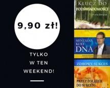 Promocje dnia - 23.06.2017: ebooki po 9,90 przez weekend!