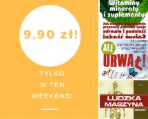 Promocje dnia - 26.05.2017: ebooki po 9,90 przez weekend!