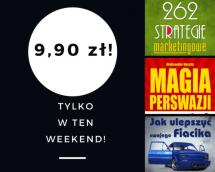 Promocje dnia - 30.06.2017: ebooki po 9,90 przez weekend!